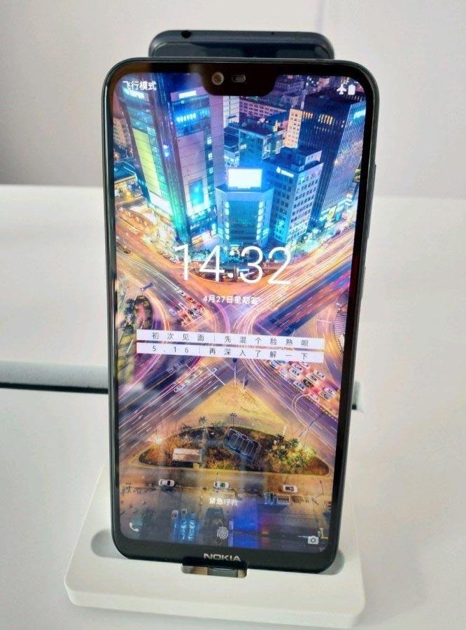 Утечка фотографии Nokia X