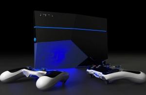 Возможный дизайн консоли PlayStation 5