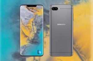 Рендер Samsung Galaxy S10 на основе патента