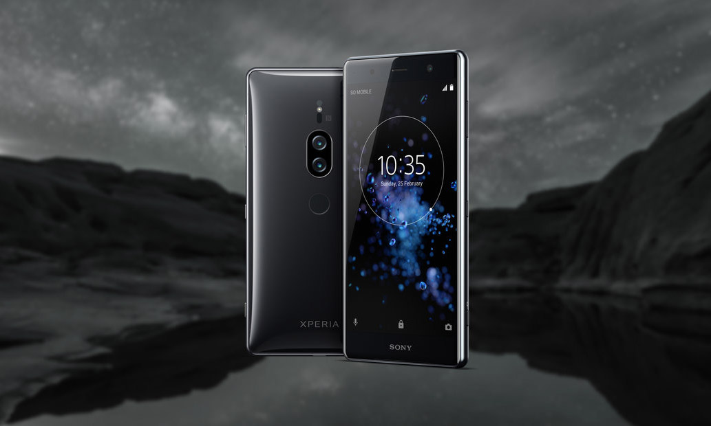 Внешний вид Sony Xperia XZ2 Premium