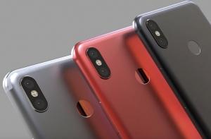 Предположительные рендеры смартфона Xiaomi Mi 6X (Mi A2)