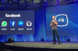 Марк Цукерберг на конференции F8