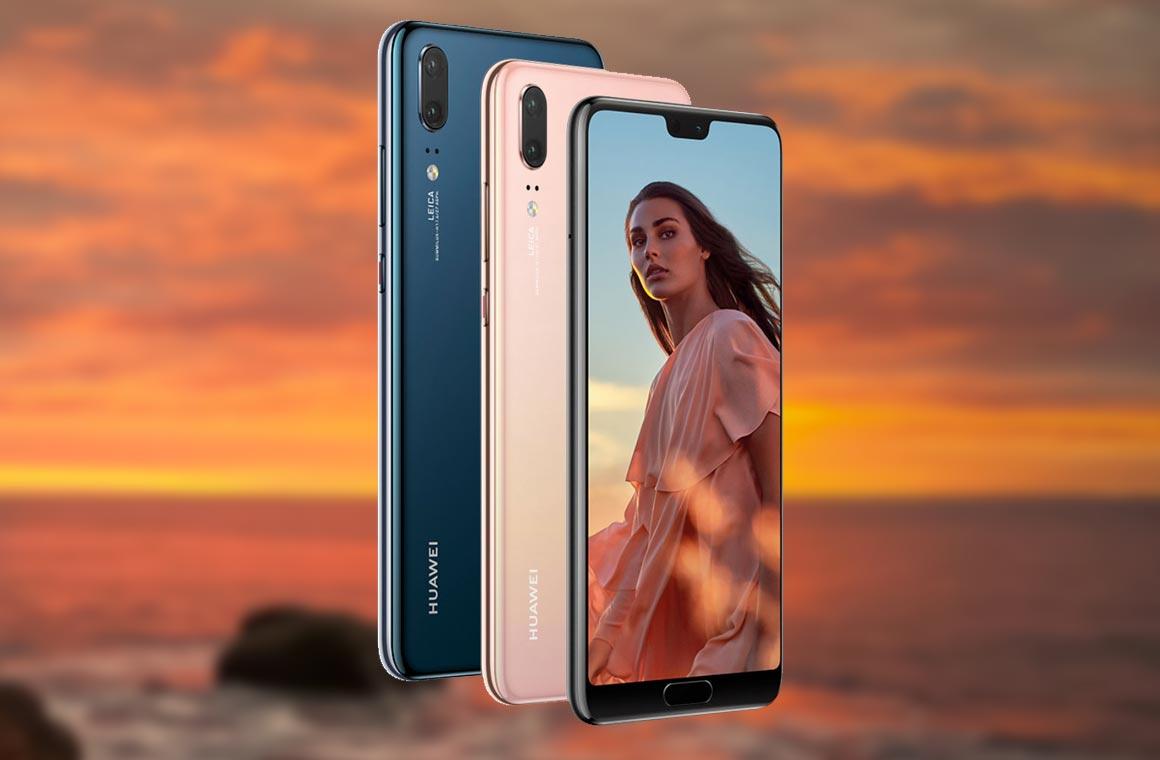 Обзор смартфона Huawei P20