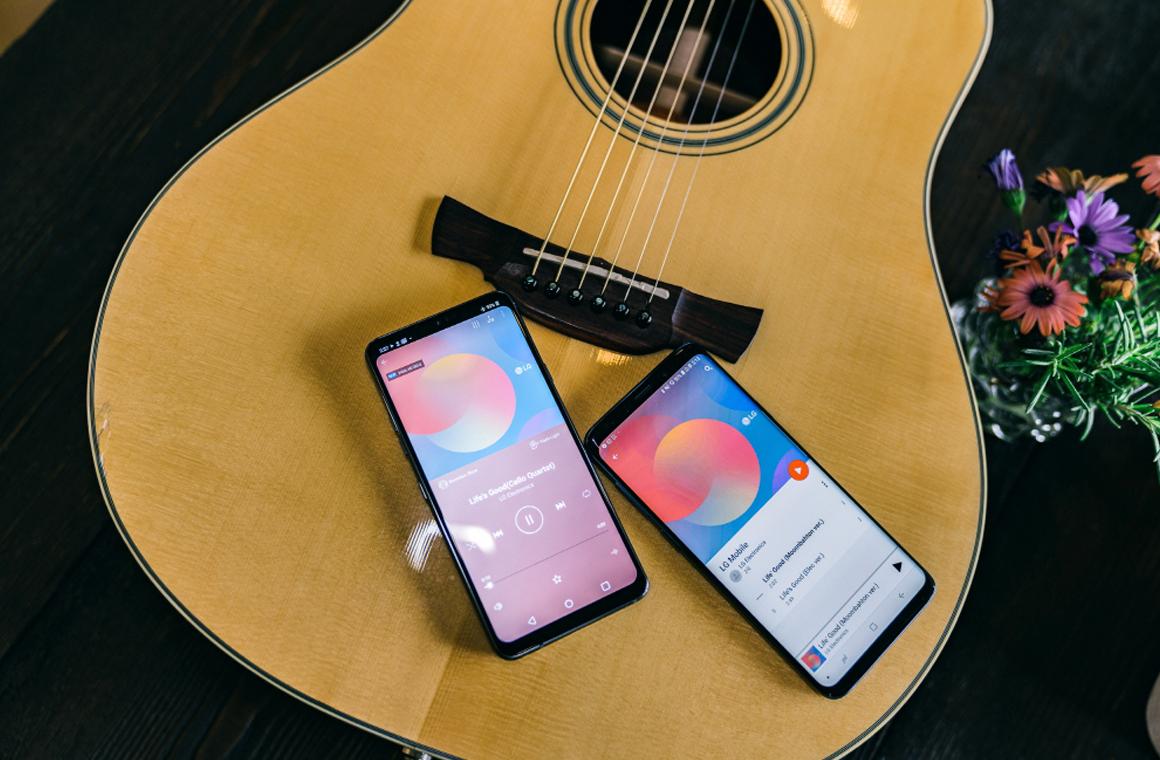 Смартфоны LG G7 ThinQ