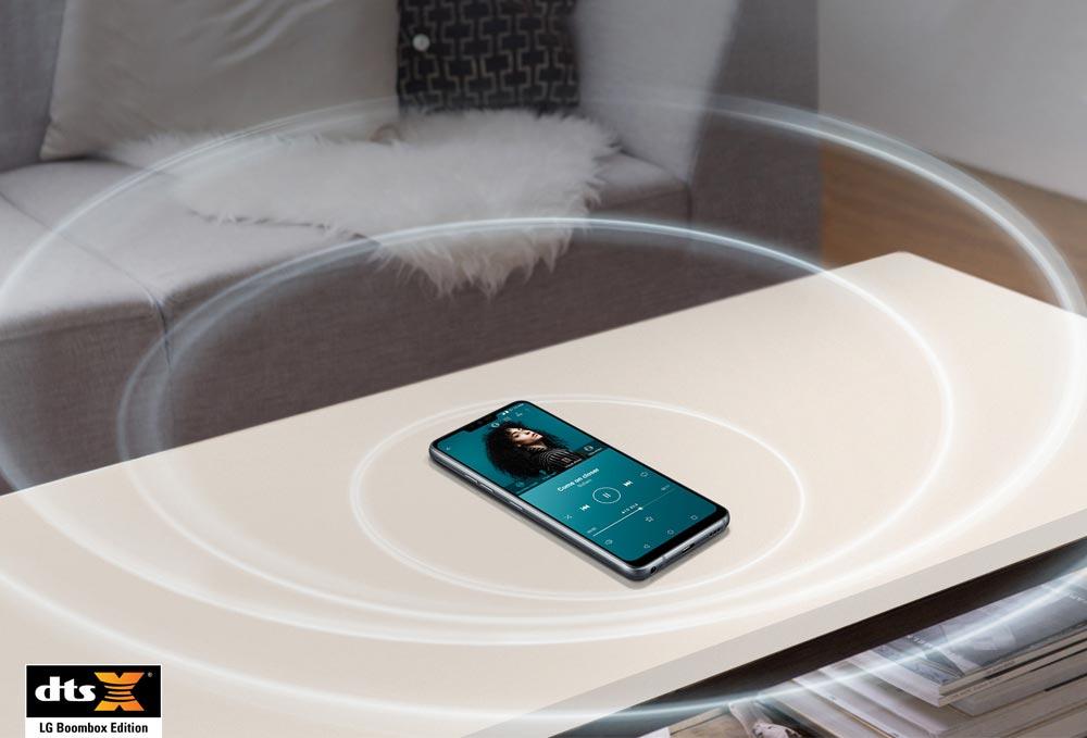Звук в LG G7 ThinQ