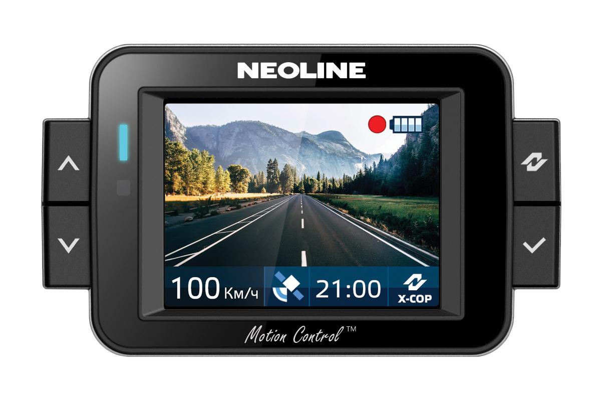 Neoline X-COP 9100 экран