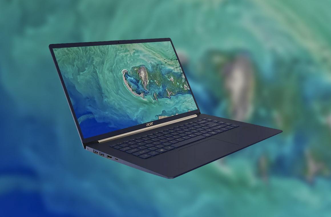 Новый Acer Swift 5