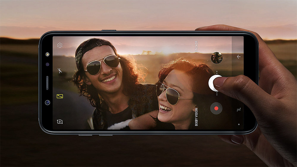 Основная камера Samsung Galaxy A6
