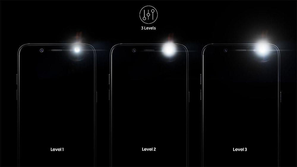 Фронтальная камера Samsung Galaxy A6