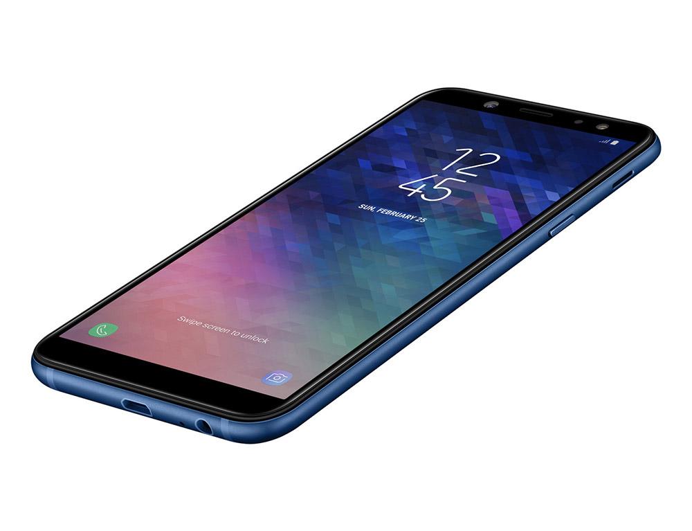 Дизайн Samsung Galaxy A6