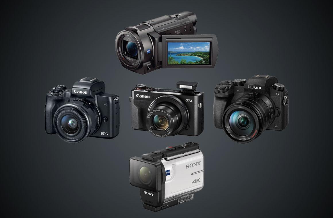 Камеры для блогов