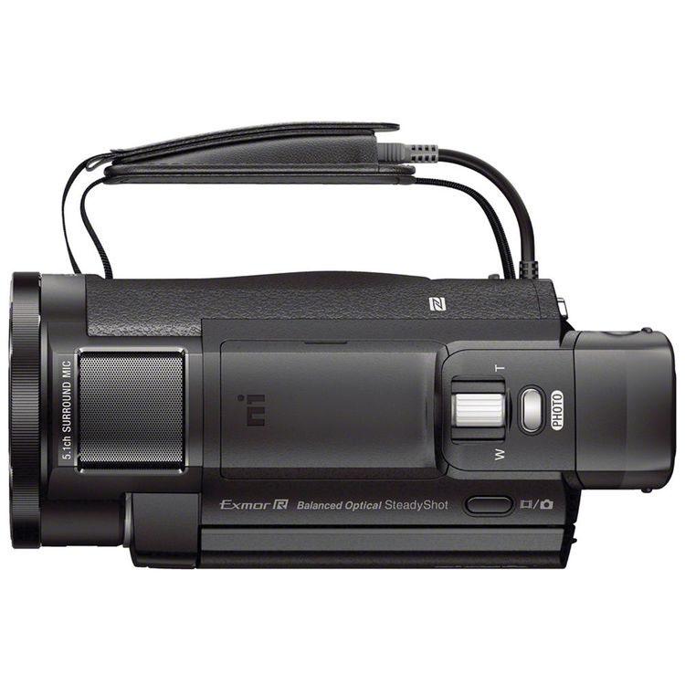 Sony FDR-AX33 вид сверху