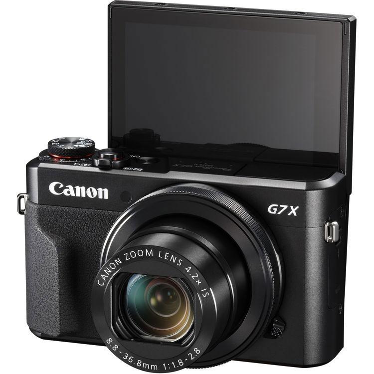 Canon Power Shot G7 X Mark II с дисплеем