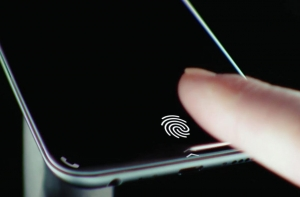 Xiaomi Mi8 сканнер в дисплее