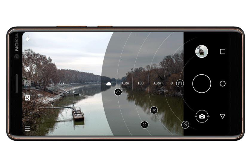 Nokia 7 Plus камера