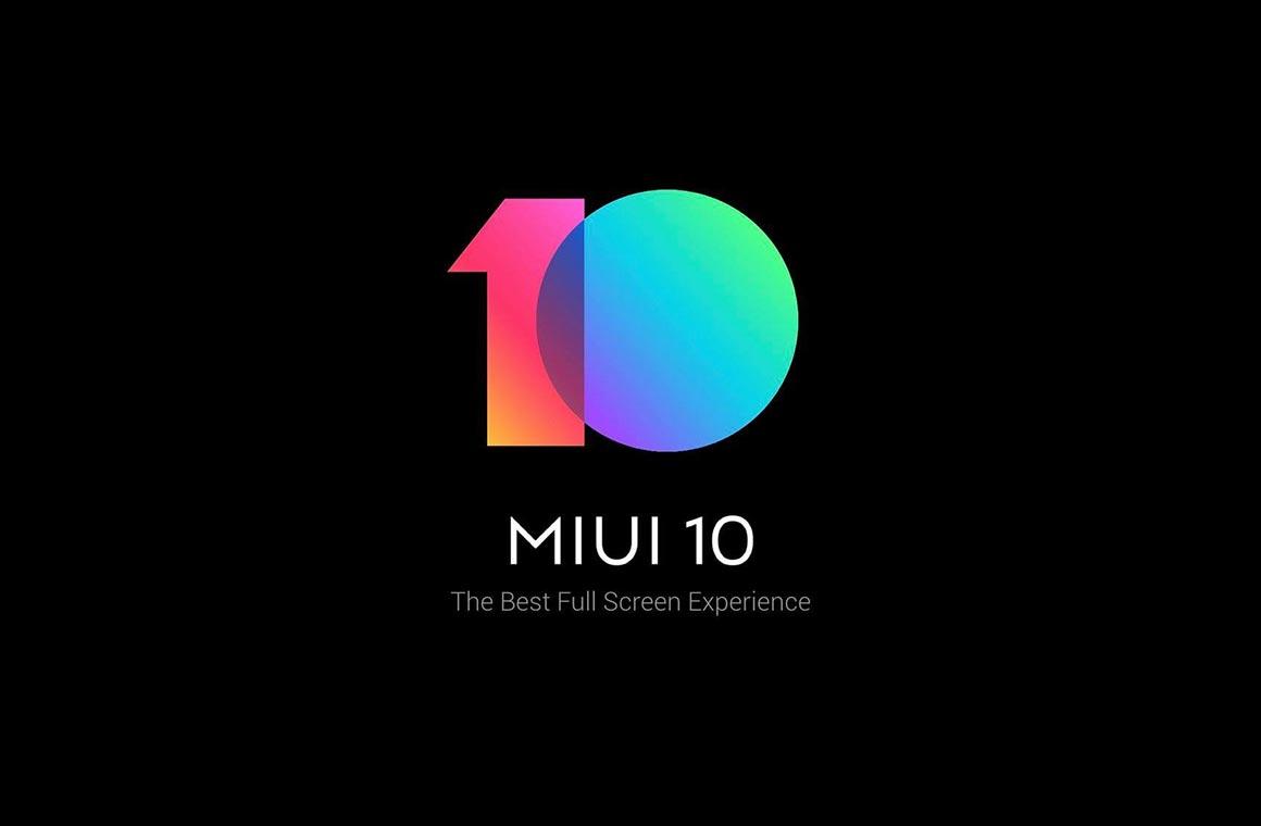 Xiaom MIUI 10