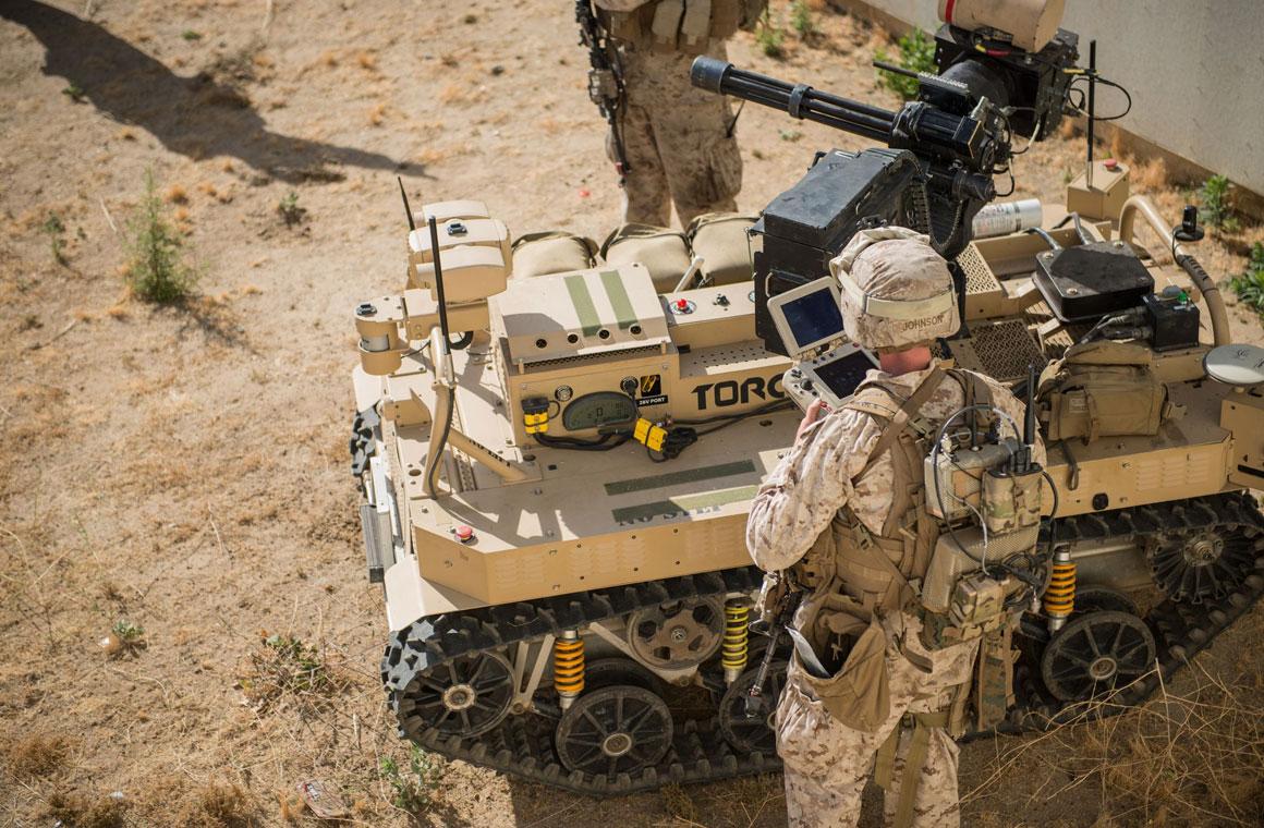 Автономное оружие