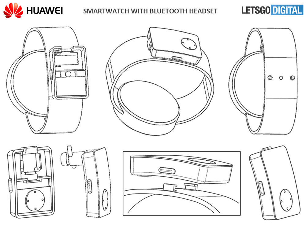 Патент Huawei