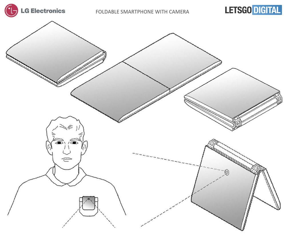 Сгибающийся смартфон LG
