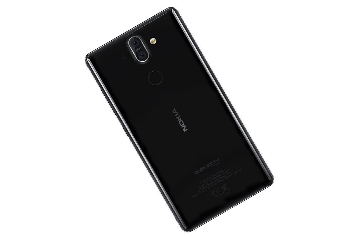 Внешний вид Nokia 8 Sirocco