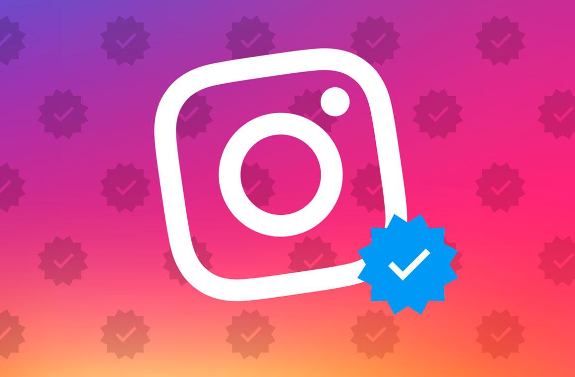 Верификация Instagram
