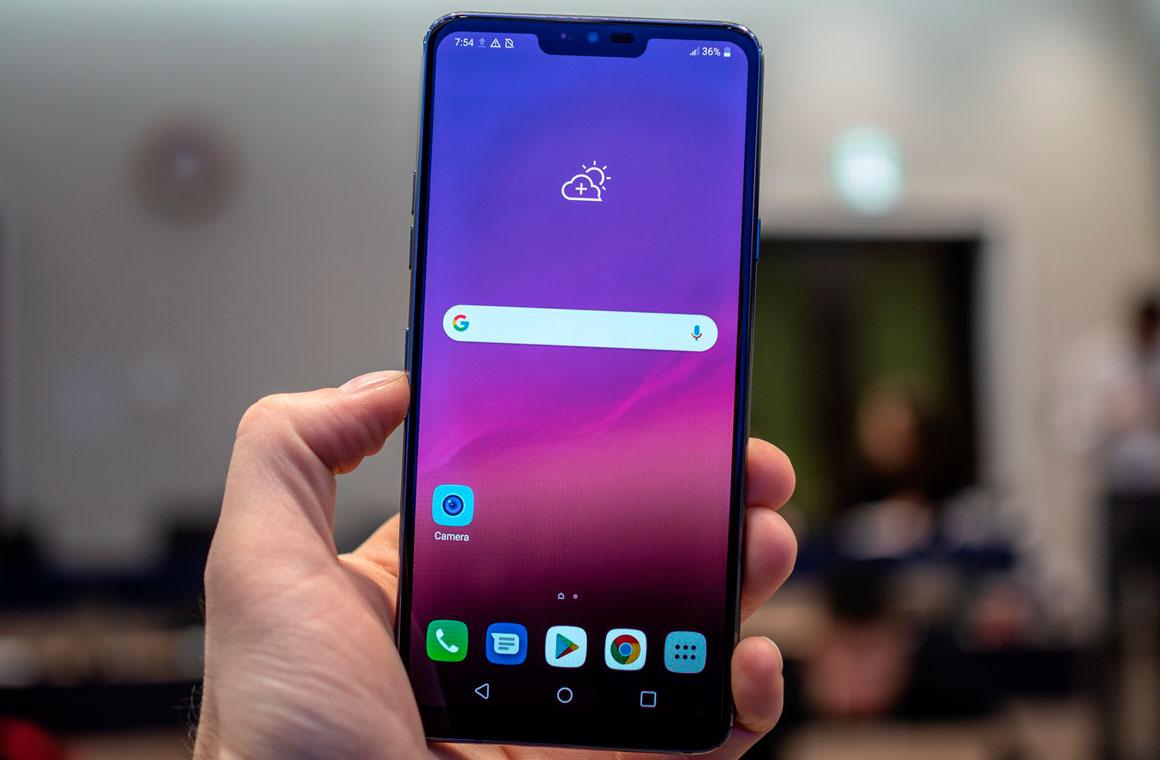 LG G7 ThinQ в руках