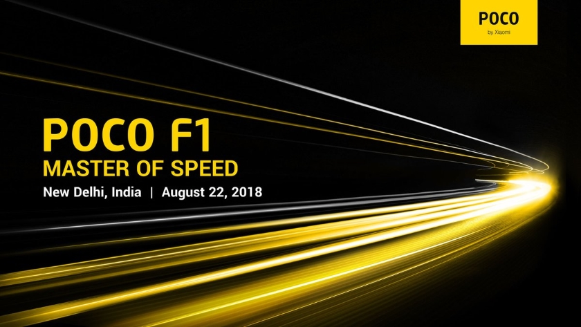 Pocophone F1 official invitation