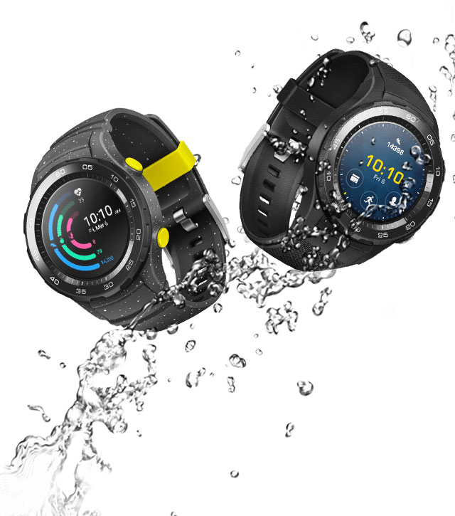 Водонепроницаемость Huawei Watch 2