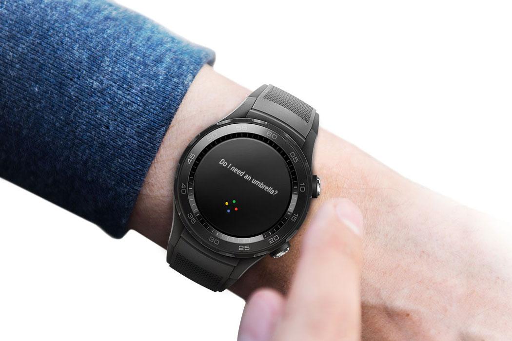 Голосовой помощник в Huawei Watch 2