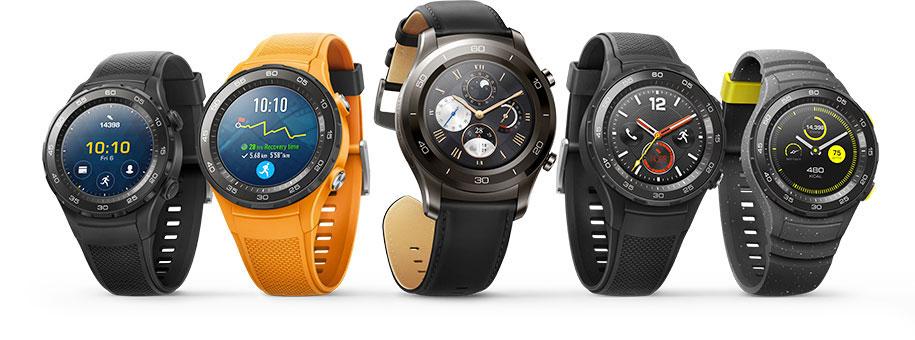 Модели Huawei Watch 2