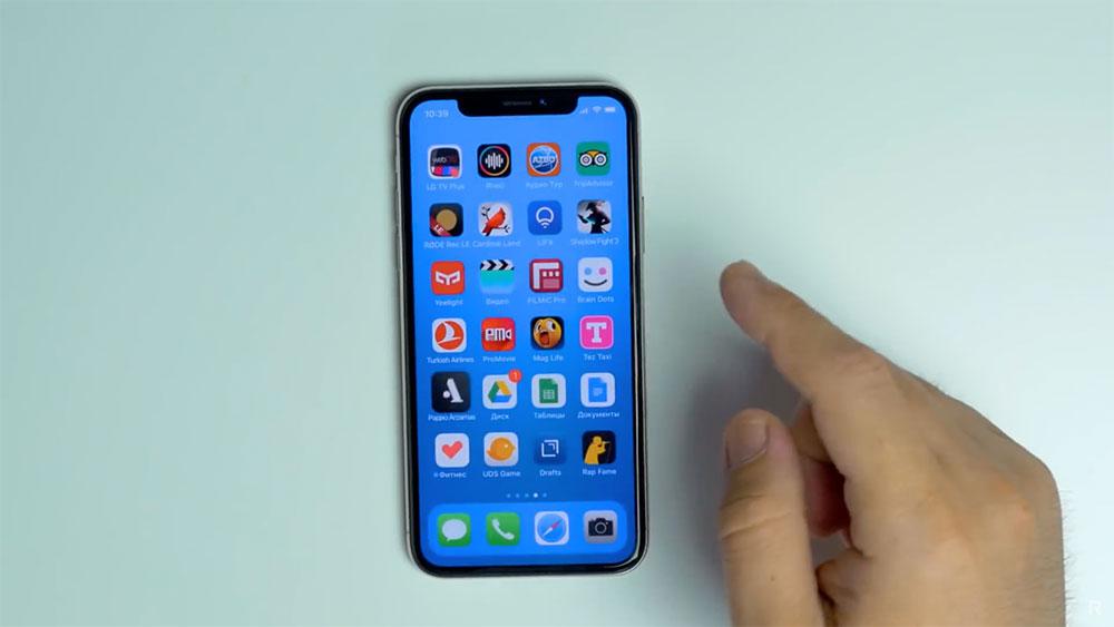 Жесты в iOS