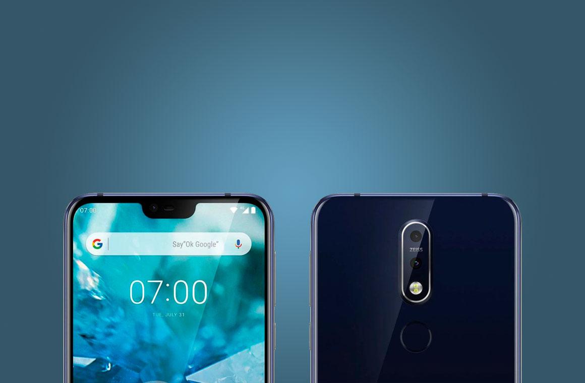 Nokia 7.1 с двух сторон