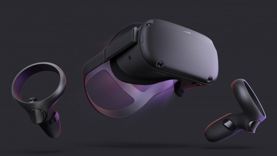гарнитура Oculus Quest с контроллерами