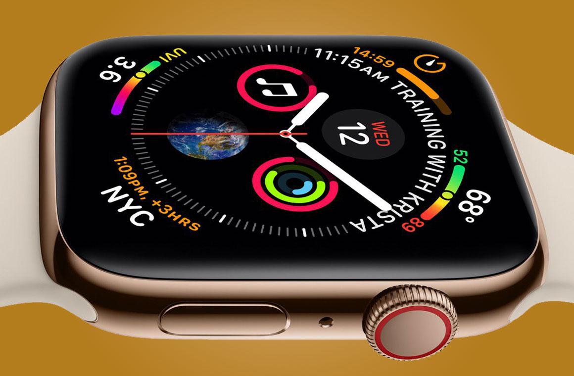 дисплей Apple Watch Series 4
