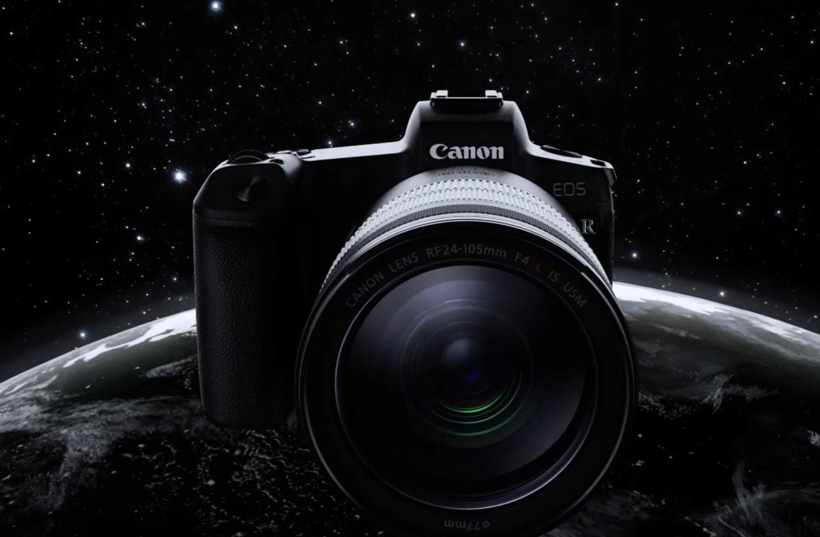 Беззеркальная камера Canon EOS R