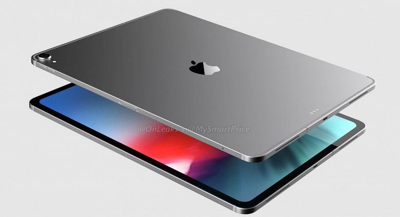 Рендер iPad Pro 2018