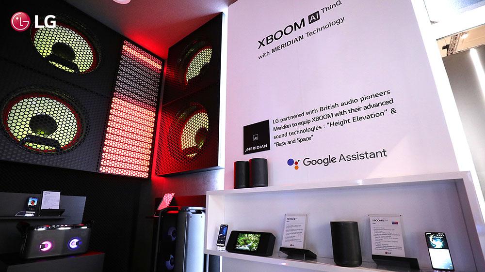 Аудиосистема LG XBOOM
