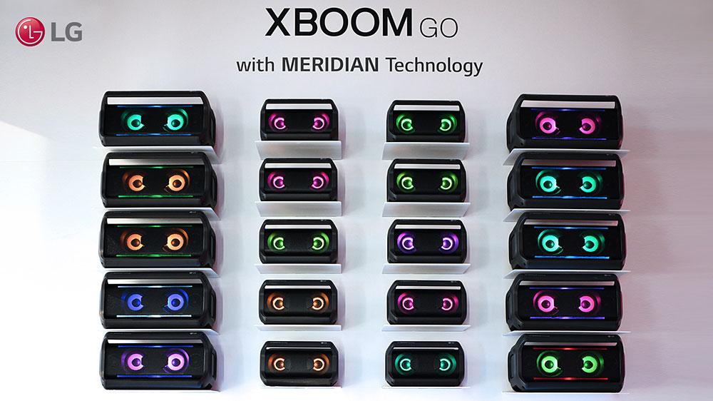 Портативные спикер LG X-BOOM Go