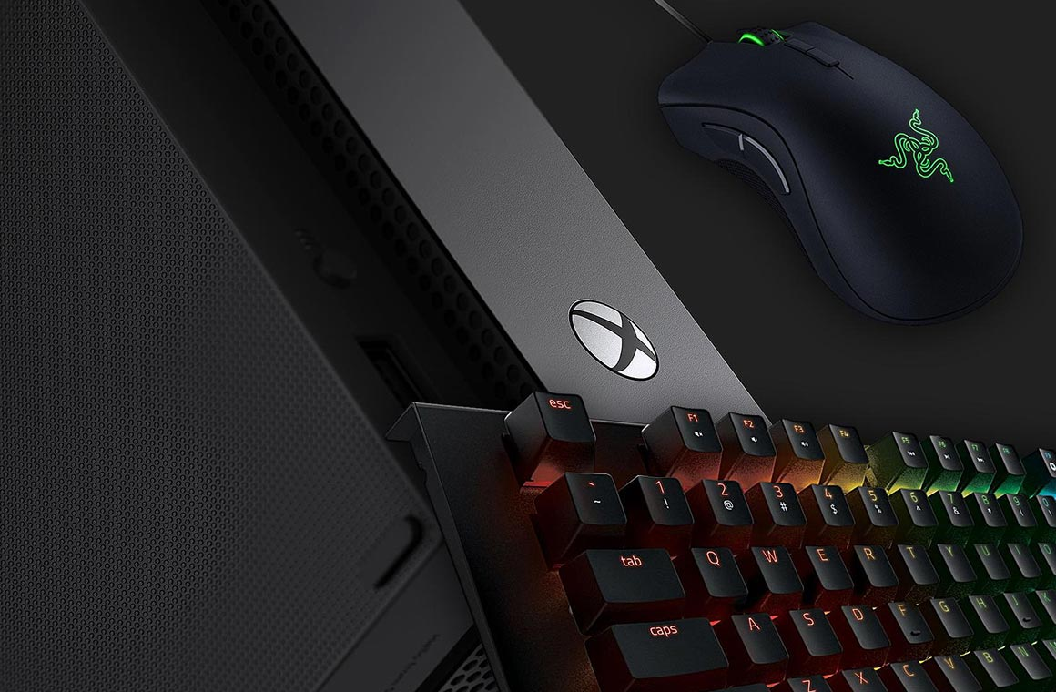 Xbox One keyboard and mouse