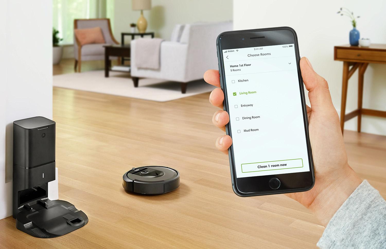 iRobot Roomba i7+ App