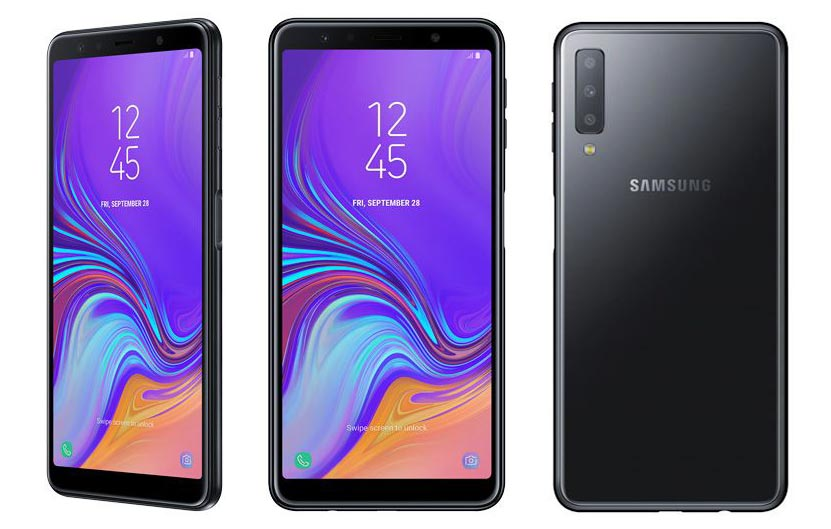 Samsung Galaxy A7 (2018) triple camera