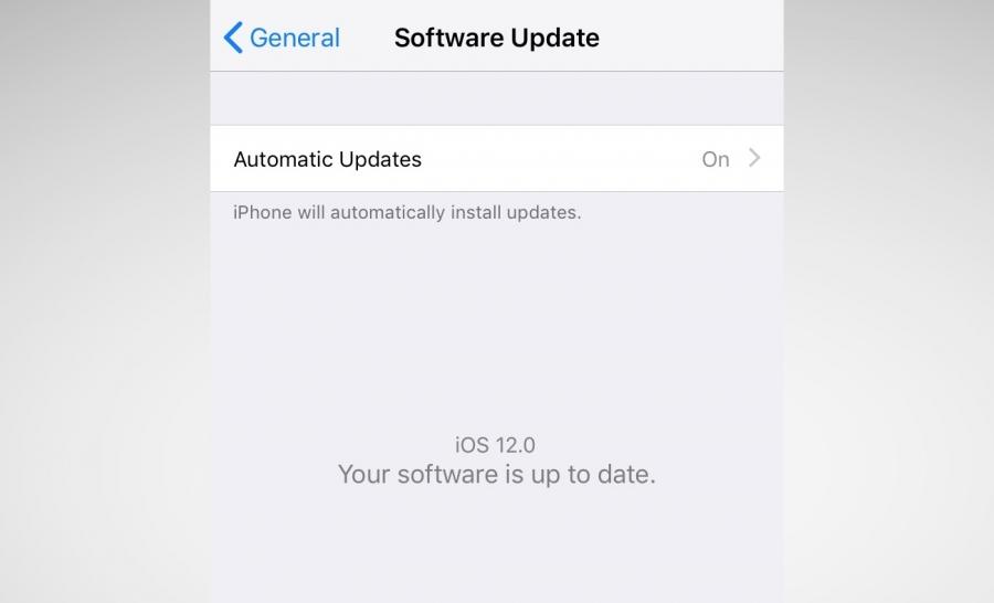 Обновления в iOS 12
