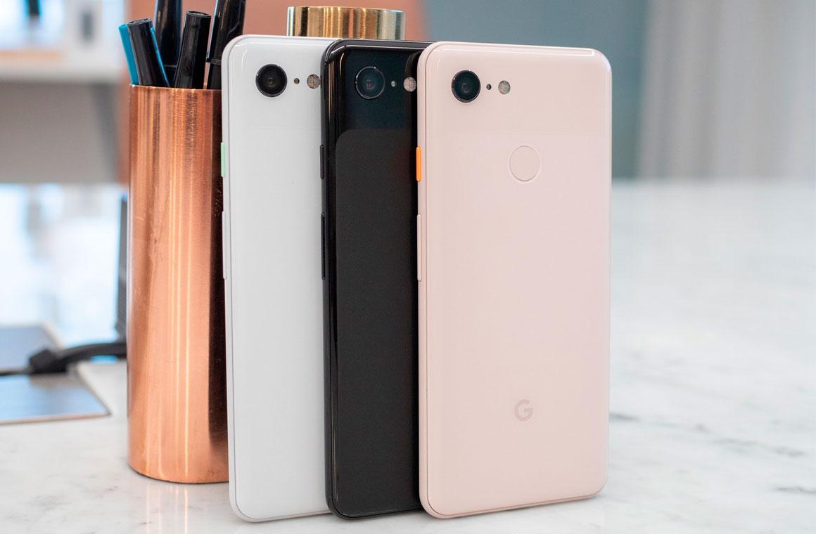 Google Pixel 3 цвета
