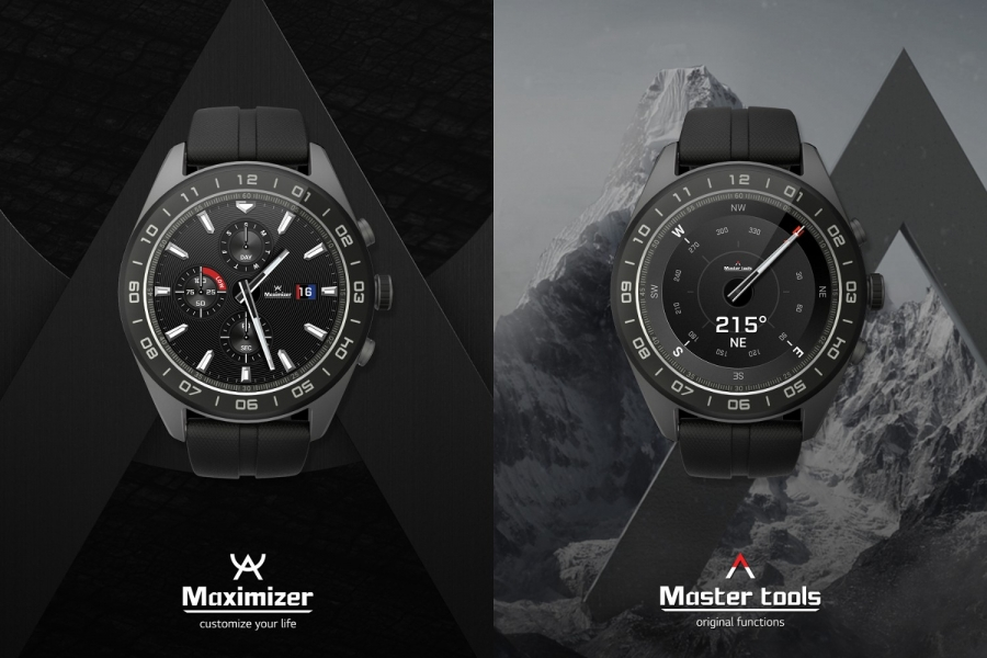 LG Watch W7 механические стрелки