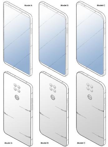 Смартфон LG патент