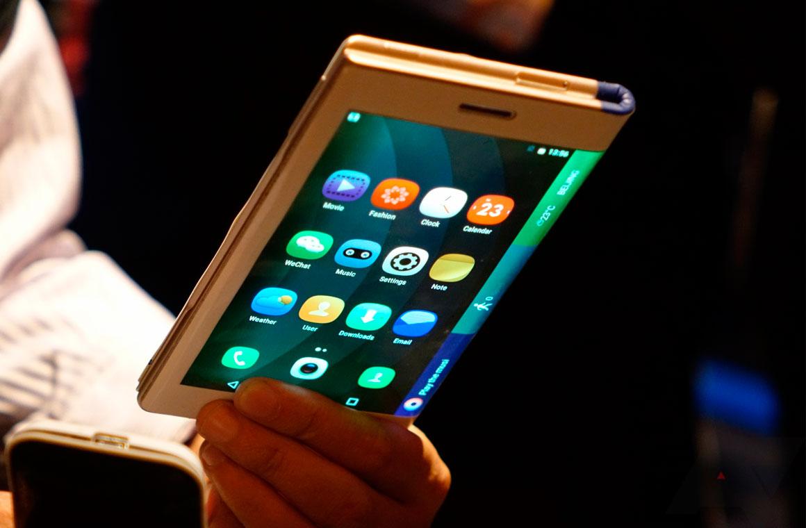 Складной планшет Lenovo