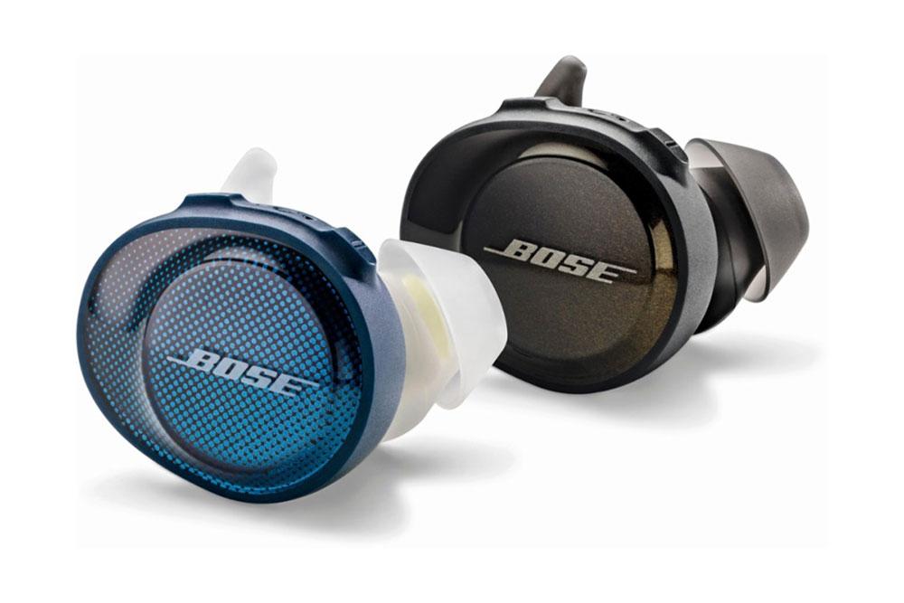 Bose SoundSport Free синего и черного цвета