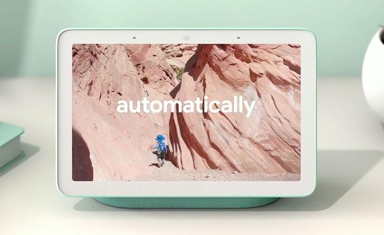 Приложение Google Photo на Google Home Hub