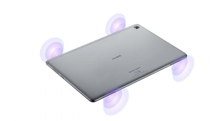 Huawei Mediapad M5 lite динамики Harman/Kardon