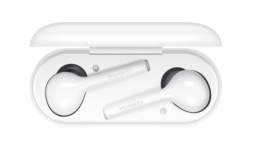 Huawei FreeBuds в зарядном кейсе